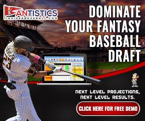 Fantasy Baseball Draft Prep